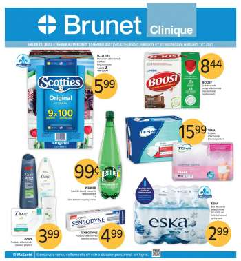 Brunet Clinique Flyer - February 04, 2021 - February 17, 2021.