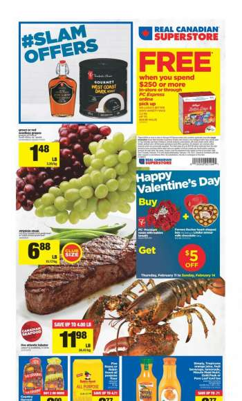 Real Canadian Superstore Flyer - February 11, 2021 - February 17, 2021.