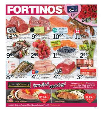 Fortinos Flyer - February 11, 2021 - February 17, 2021.