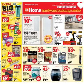 Home Hardware Building Centre Flyer - February 11, 2021 - February 17, 2021.