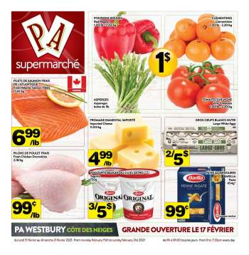 PA Supermarché Flyer - February 15, 2021 - February 21, 2021.