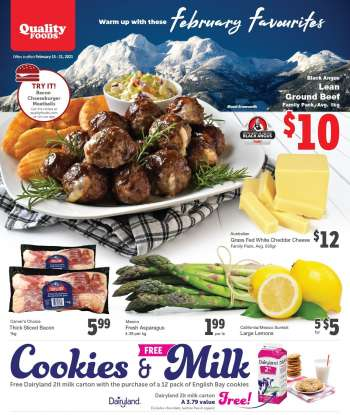 Quality Foods Flyer - February 15, 2021 - February 21, 2021.